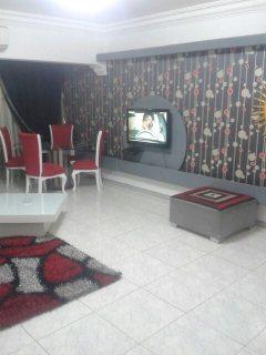 للايجار شقة مفروشة  2ريسبشن بمدينة نصر