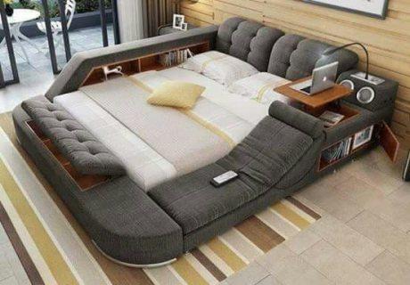 السرير السوبر متعدد الاستخدامات من كنوز أرت سوهاج