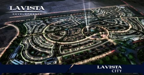 تاون هاوس للبيع بكمبوند la vista city بمقدم 15%