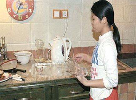 عاملات نظافة ومربيات فلبينيات واندونسيات تبحث عن عمل لدى أسر رافية01017902000