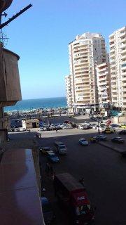 شقه للبيع ترى البحر شارع محمد نجيب الرئيسى 2 غرفه