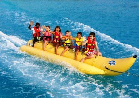 الالعاب المائية بشواطئ دبي