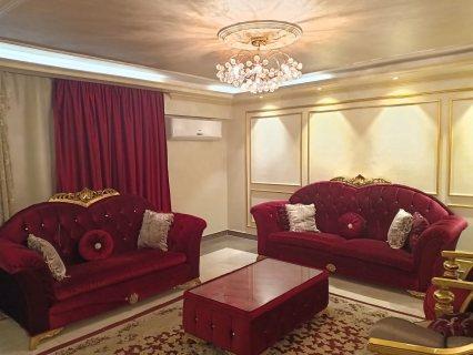بموقع حيوى شقة مفروشة للايجار 1700ج لليوم