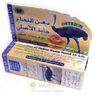 دهن النعام التهابات العمود الفقرى والام الرقبه.