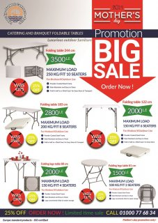 Outdoor furniture BIG SALE UP TO 60 % OFF