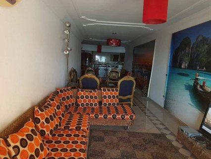شقة للبيع بمنطقة بير مسعود على البحر مباشر