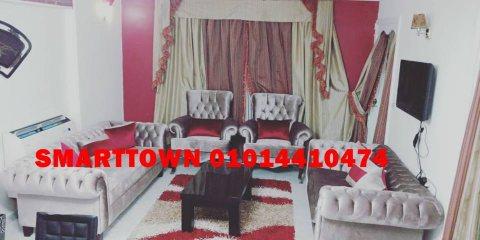 امام جنينة مول شقة مفروشة للايجار بمدينة نصرمكونة