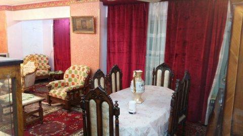 للايجار شقة مفروشة  بأول مكرم عبيد مدينة نصر
