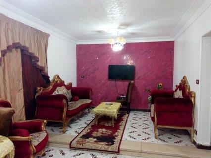 للايجار شقة مفروشة بمدينة نصر بجوار ميدان الساعة