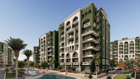 شقة بالعاصمة الادارية75م بفيو مميز وروعة كمبوند لافيردي #La Verde