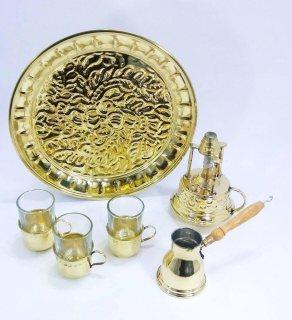 طقم قهوة (من نحاس عرض رمضان )