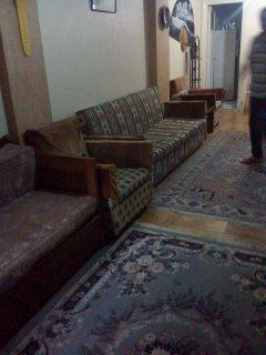 شقة مفروش بمنطقة 45 الرئيسي قرب الكوبري شايفة بحر