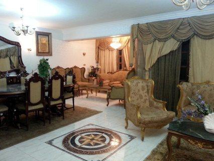 شقة مفروشة 200م للايجار شارع مكرم عبيد