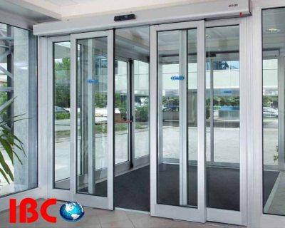 الابواب الاتوماتيكية (Automatic Sliding Doors)