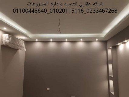 شركات الديكور في مصر  (شركه عقاري للتنميه واداره المشروعات) 01020115116