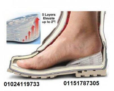 رفع و زيادة الطول كعب حذاء سيليكون طبي Tall Shoe Heel