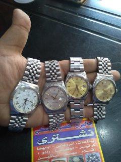 نشتري الساعات السويسرية الاصليه رولكس اوميجا لونجين