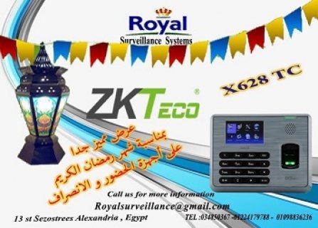 أجهزة حضور وانصراف ماركة ZKTECOموديلX628-TC