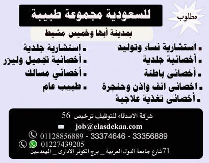 مجموعة طبية - بالسعودية - بأبها وخميس مشيط