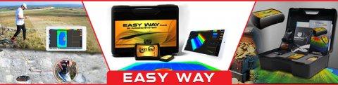 Easy Way أصغر كاشف للمعادن والفراغات ثلاثى الابعاد