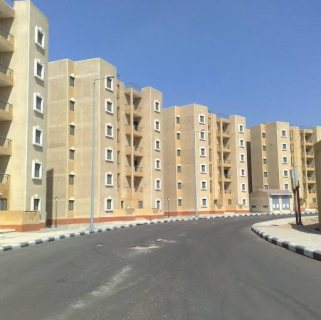 شقة للبيع باكتوبر - مشروع ابناء الجيزة - مرحلة 1