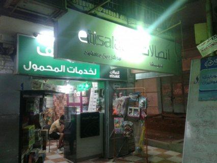 باقوى موقع بش سليمان أباظة محل 220 م دورين وواجهة كبيرة متشطب هاى سوبر لوكس