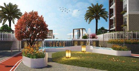 شقة للبيع 146م بالعاصمة الادارية كومبوند Sueno تسهيلات حتي 7 سنوات