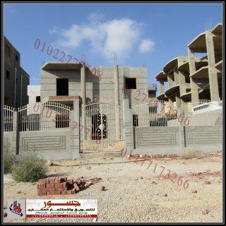 فيلا للبيع برج العرب الجديدة 375م2 دورين
