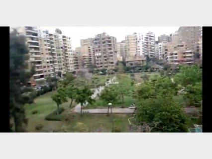 شقه للبيع مساحة 300 متر صافي مدينة نصر  فيو رائع وايد جاردن