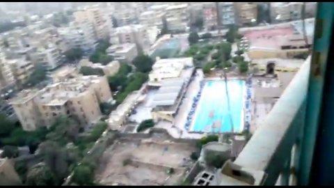 شقه للبيع شارع الحجاز الرئيسي 350 متر روكسي مصر الجديده