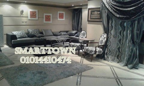 شقة مفروشة للايجار  مستوى راقي مدينة نصر شارع معز الدولة من شارع مكرم عبيد