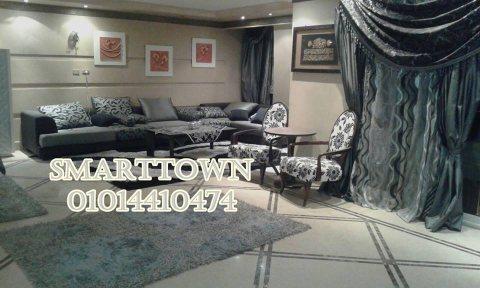 شقة مفروشة للايجار بموقع مميز مستوى راقي مدينة نصر شارع مكرم عبيد الرئيسي