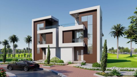 شقة 142 متر للبيع في بورتو جولف القاهرة بفيو بانورامي بمدينة المستقبل