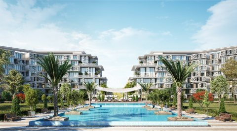 شقة للبيع بمساحة إجمالية 222 متر في العاصمة الإدارية الجديدة بكمبوند Soroh