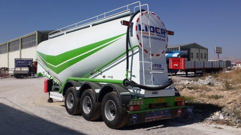 Bulk cement trailers