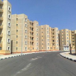 شقة بابناء الجيزة مرحلة ثالثة دور ارضى 63م