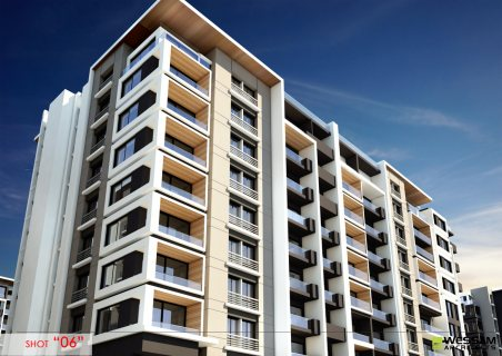شقة 126 م ارضي بحديقة خاصة بارقي كمبوند بمدينة نصر