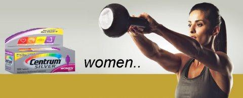 سنترام سيلفر افضل الفيتامينات والمعادن لجسم السيدات
