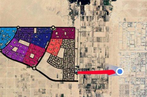 #أرض مميزه للبيع في أب تاون الرقابه الاداريه موقع مميز