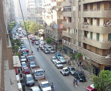 شقة سوبر لوكس للايجار بشارع كامل صدقى للشركات والمراكز الكبرى