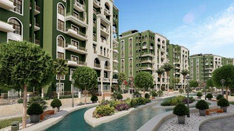 شقة سكنية بكمبوند يطل علي اهم معالم العاصمة الادارية