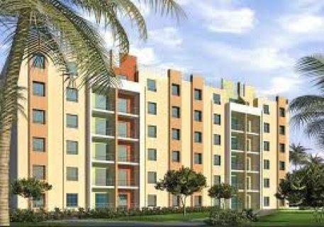 شقة للبيع 250000 جنية تشطيب سوبر لوكس غرفتين وصالة تطل علي شارع 25