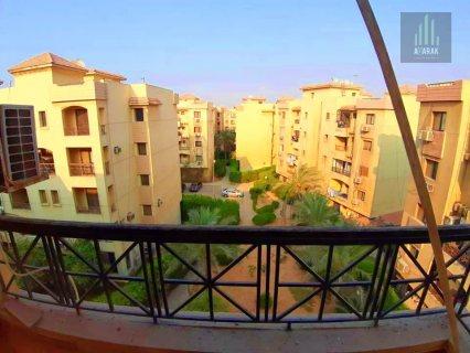 شقة 127 متر  ايجار جديد 6 اكتوبر كومبوند حي الاشجار