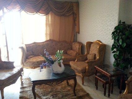 شقة مفروشة 200م #فاخرة للايجار شارع #مكرم_عبيد امام #السراج_مول