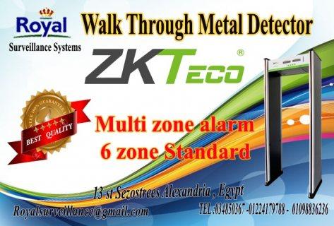 بوابات امنية للكشف عن المتفجرات ماركة ZKTeco