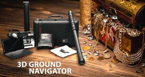 جراوند نافيجيتور 3D | جهاز كشف الذهب التصويرى
