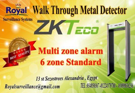 أحدث البوابات الامنيه للكشف عن الاسلحه المتفجرات ماركة ZKTeco
