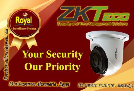 افضل كاميرات مراقبة داخلية عالية الجوده  ماركه ZKTECO