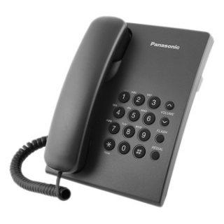 KX-TS500 عدة تليفون عادية مزودة بخاصية اعادة الطلب