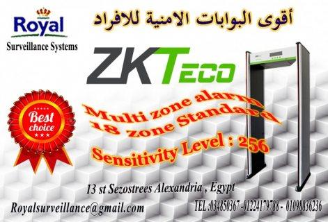 أحدث البوابات الامنية للكشف عن المتفجرات   18 ZONEماركة ZKTeco